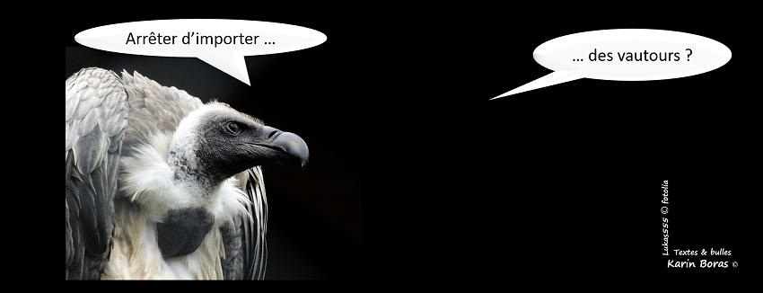 Arrêter d'importer... des vautours ?