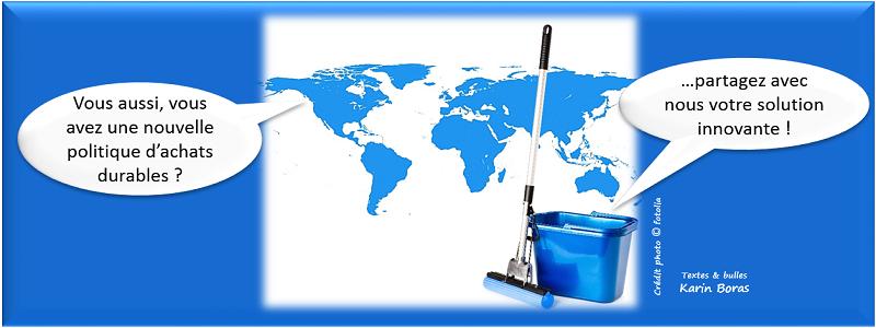 Achats, politique achat innovante en développement durable ou RSE, entreprise exemple