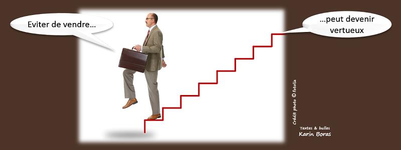 Eviter de vendre peut devenir vertueux. Surveiller ses dépendances commerciales.