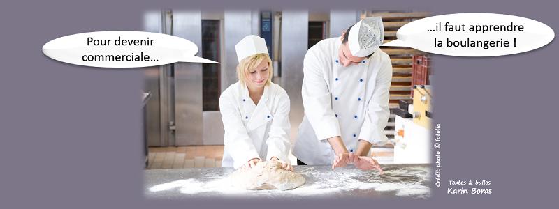 Accompagner commercialement : pour devenir commercial, il faut apprendre la boulangerie