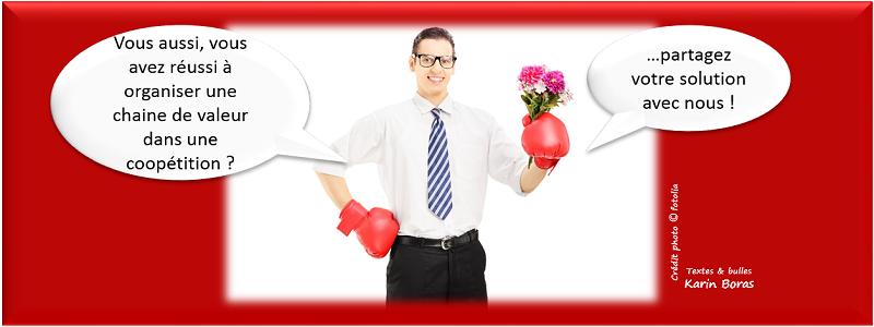 Economie partenariale, coopétition, organisation chaine de valeurs, entreprise exemple