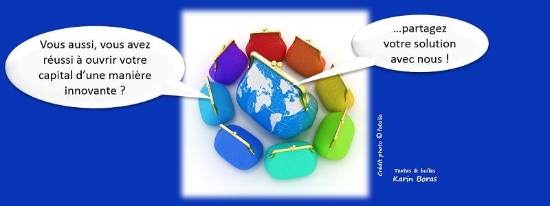 Finances, ouvrir le capital en développement durable ou RSE, entreprise exemple