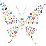 Entreprendre, comptabilité, capital immatériel en développement durable ou RSE, icone