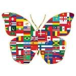 Entreprendre, économie partenariale, implication sociétale en développement durable ou RSE, icone