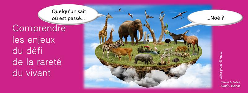 biodiversité, comprendre les enjeux de la rareté du vivant, titre