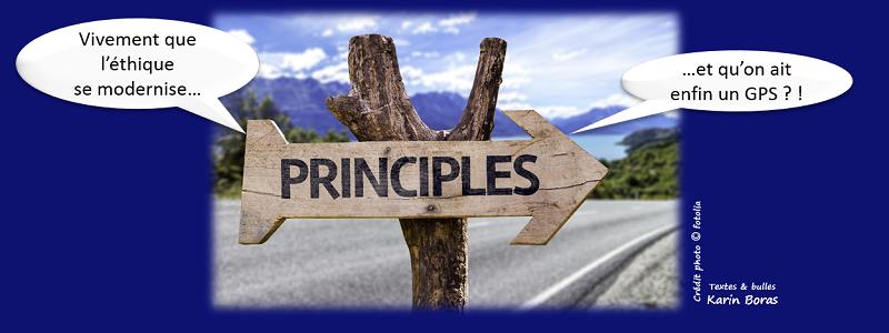 Vivement que l'éthique se modernise...et qu'on ait enfin un GPS ?