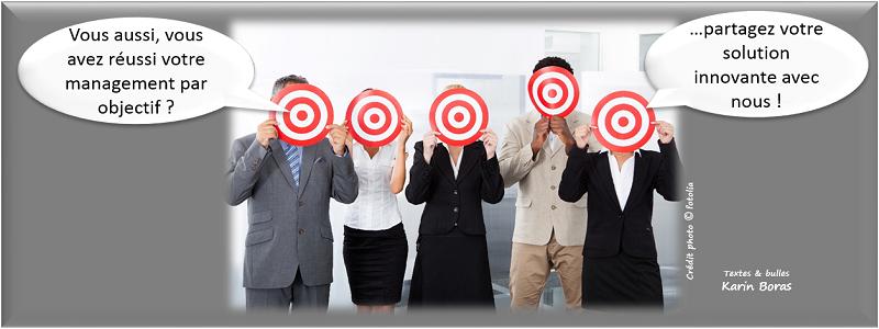 Management par objectif en développement durable ou RSE, entreprise exemple