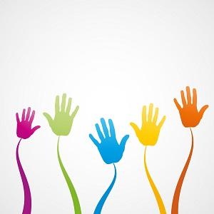 Economie partenariale, coopétition, innover ensemble en développement durable ou RSE, icone