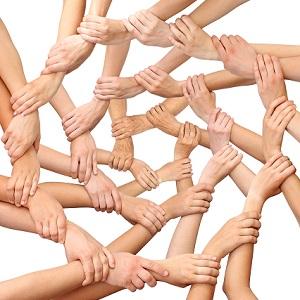 Economie partenariale, coopétition, organiser la création de chaine de valeurs en développement durable ou RSE, icone