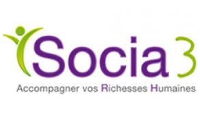 Socia3 logo