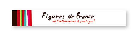 Figures de france - de l'enthousiasme à partager logo